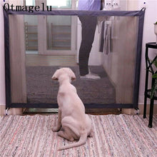 Load image into Gallery viewer, Pet Dog Fences Gate Folding Safety Pet Isolated Network Playpen For Dog Cat Baby Isolated Home Door Fence Cage Pet Accessories