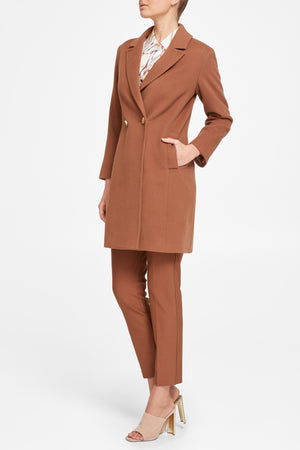 Camile Coat - Nutmeg
