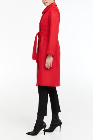 Arianna Coat - Bright Red
