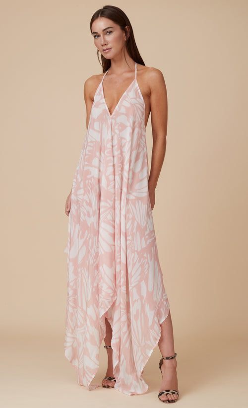 VERONIQUE MAXI APRICOT WING