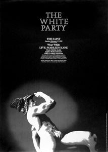 Poster 1985 The White Party