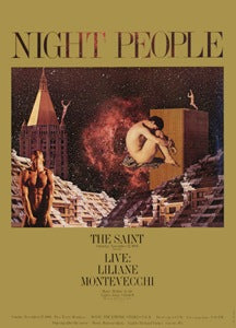 Poster 1986 Night People