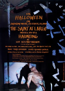 Poster 1989 Halloween at the Saint