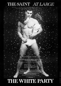 Poster 1989 The White Party