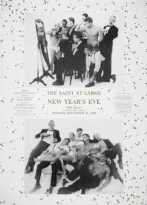 Poster 1990 New Years Eve The Saint