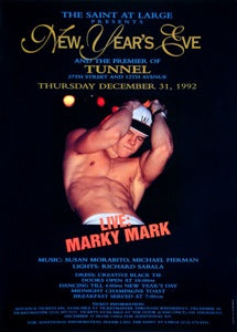 "Poster 1992 New Years Eve ""Marky Mark"""