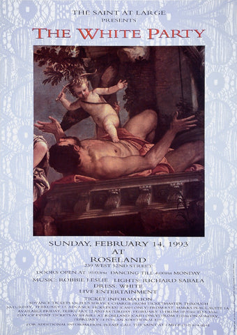 Poster 1993 The White Party