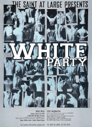 Poster 1995 The White Party Saint at Large