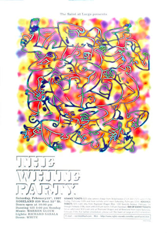 Poster 1997, The White Party, The Saint at Large