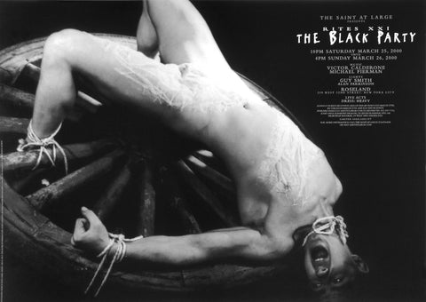 Poster 2000, The Black Party, The Saint at Large