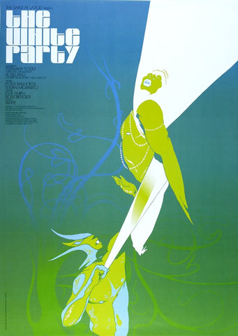 Poster 2001, The White Party, The Saint at Large