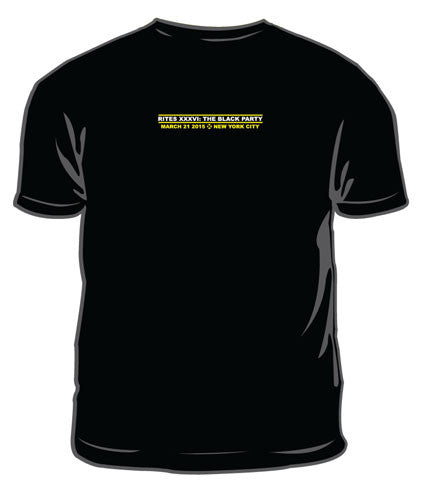 Black Party 2015 Tshirt