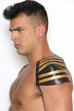 INVADER HALF HARNESS GOLD BAND