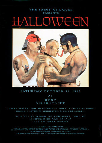 Poster 1992, Halloween The Saint at Large