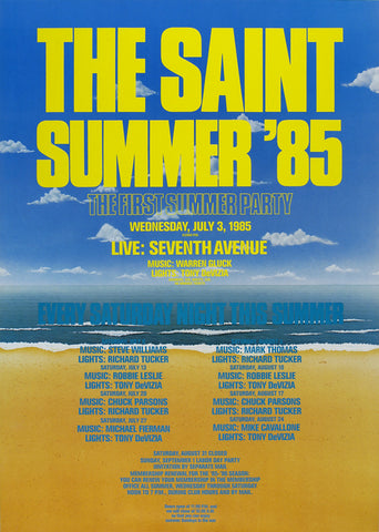 Poster 1985, Saint Summer Party