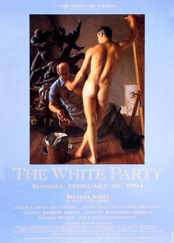 Poster 1994, The White Party