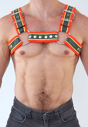 Construction Bulldog Half Harness