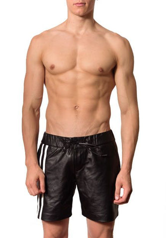 Leather Boxer Shorts
