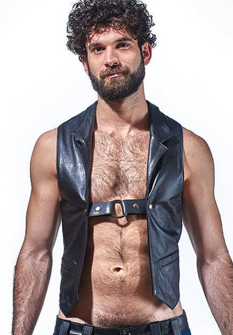 Leather Classic Vest