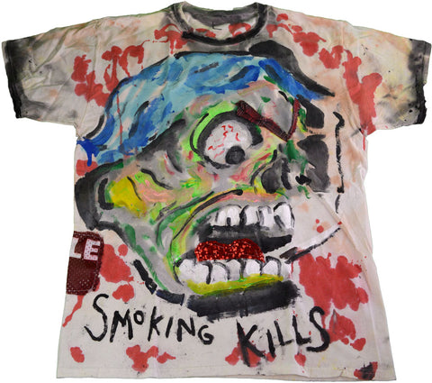 Scooter LaForge T-Shirt-Smoking Kills