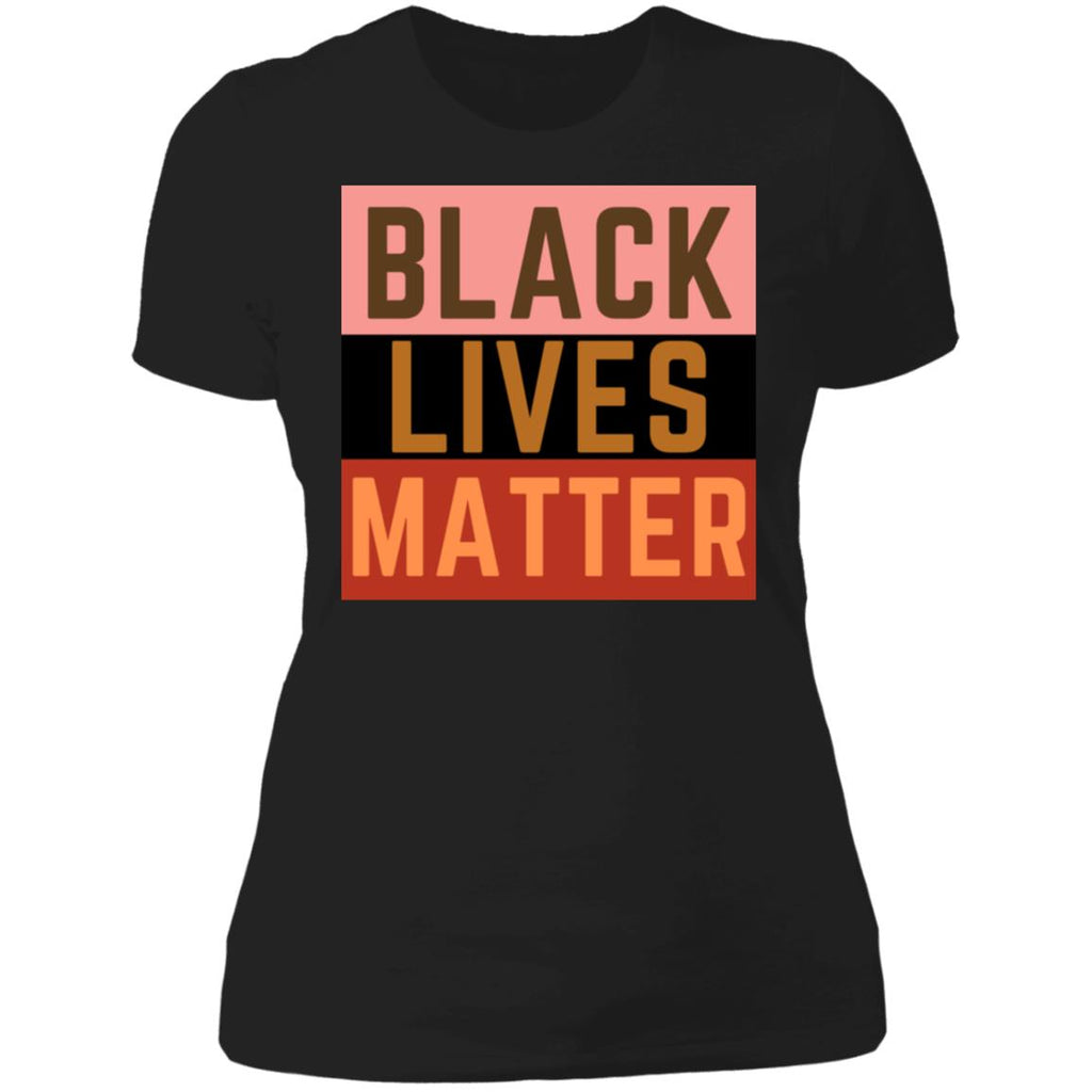 Black lives matter Ladies' Boyfriend T-Shirt