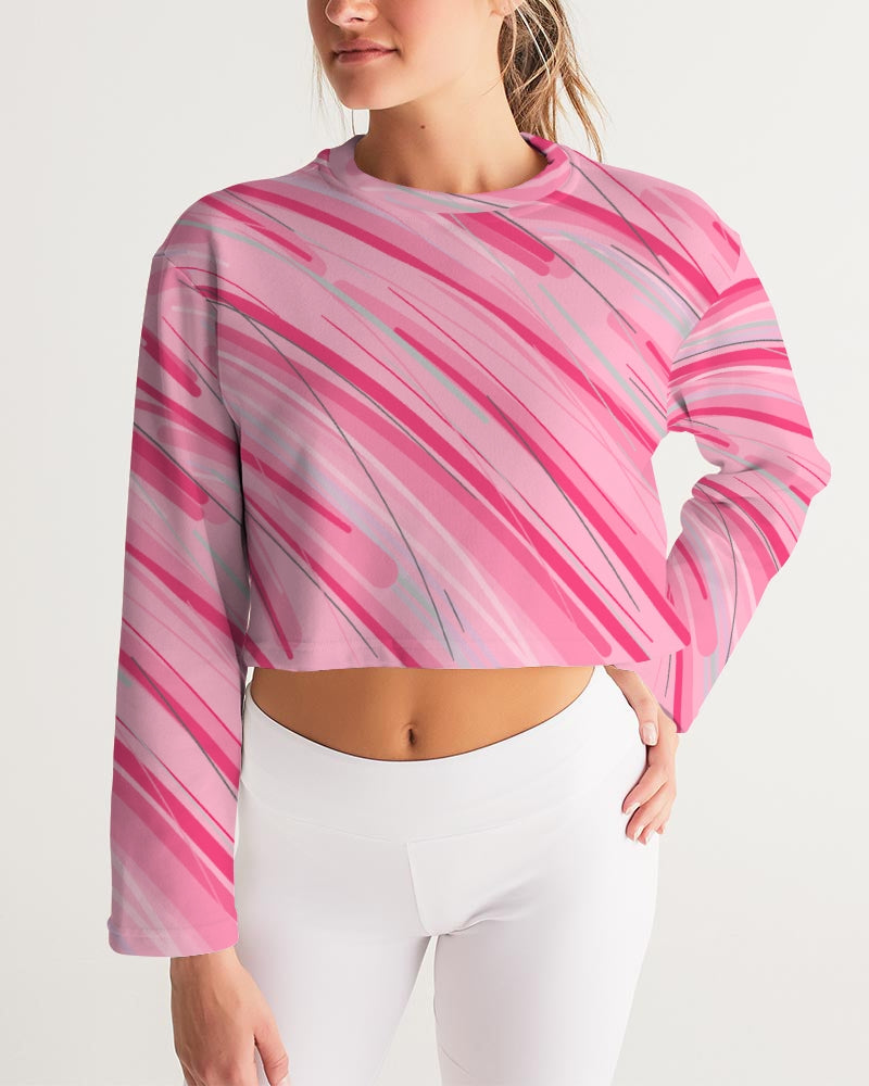 Just Like A Girl Cropped Sweatshirt