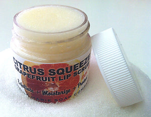 Citrus Squeeze (Lip Scrub) - 100% Natural