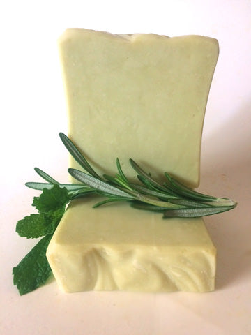 Rosemary and Mint Natural Shampoo Bar - NEW