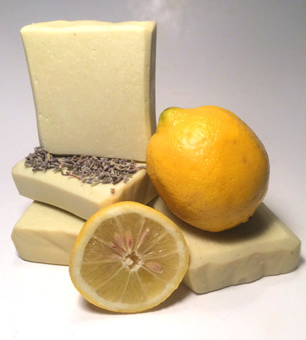 Lemon and Lavender Natural Shampoo Bar