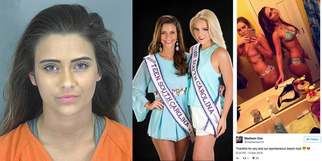 Miss South Carolina Teen Arrested