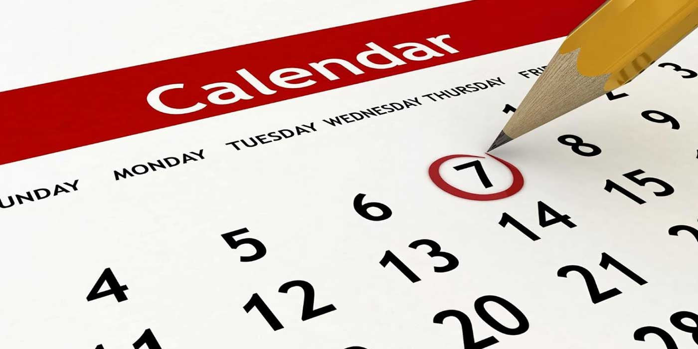 2016 Election Schedule And Calendar Of Important Dates