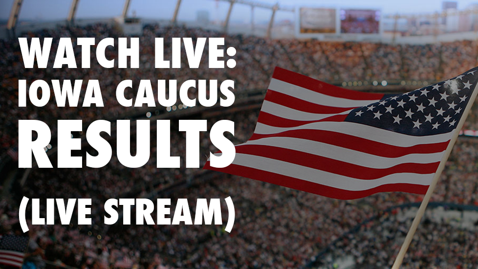 Watch Live: 2016 Iowa Caucus Results (LIVE STREAM)