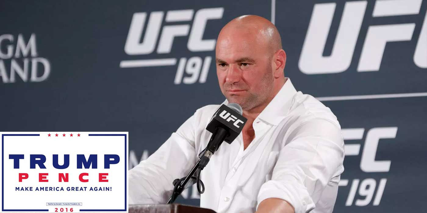 3 Things UFC's Dana White Respects About Donald Trump