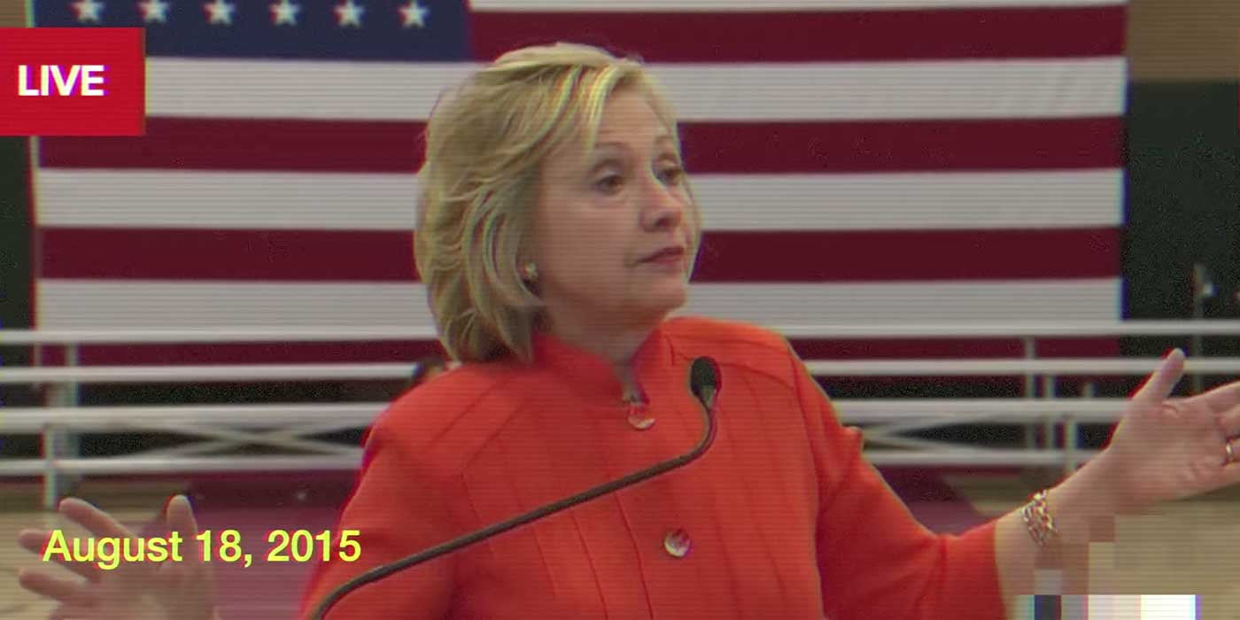 5 Times Hillary Clinton Lied On Camera About Her Email Scandal