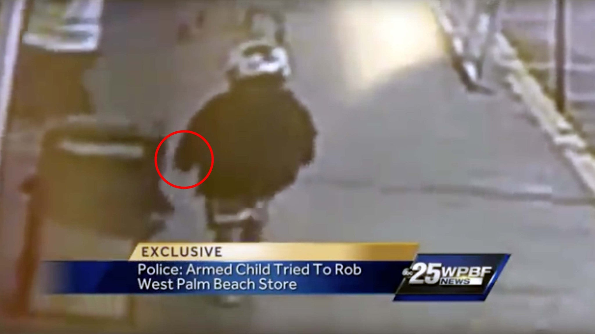 8-Year-Old Boy Steals Mom's Gun and Robs a Grocery Store