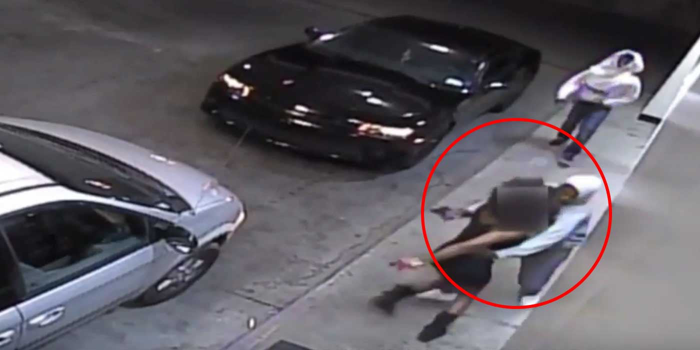 VIDEO: Woman Fights Off Two Armed Carjackers!