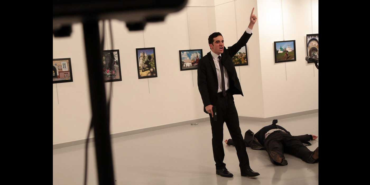 Image result for russian diplomat assassinated in turkey