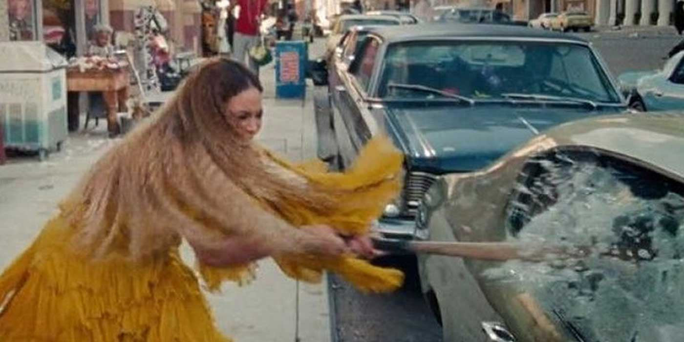 "Beyonce Destroys City With Bat In New ""Role Model"" Video"