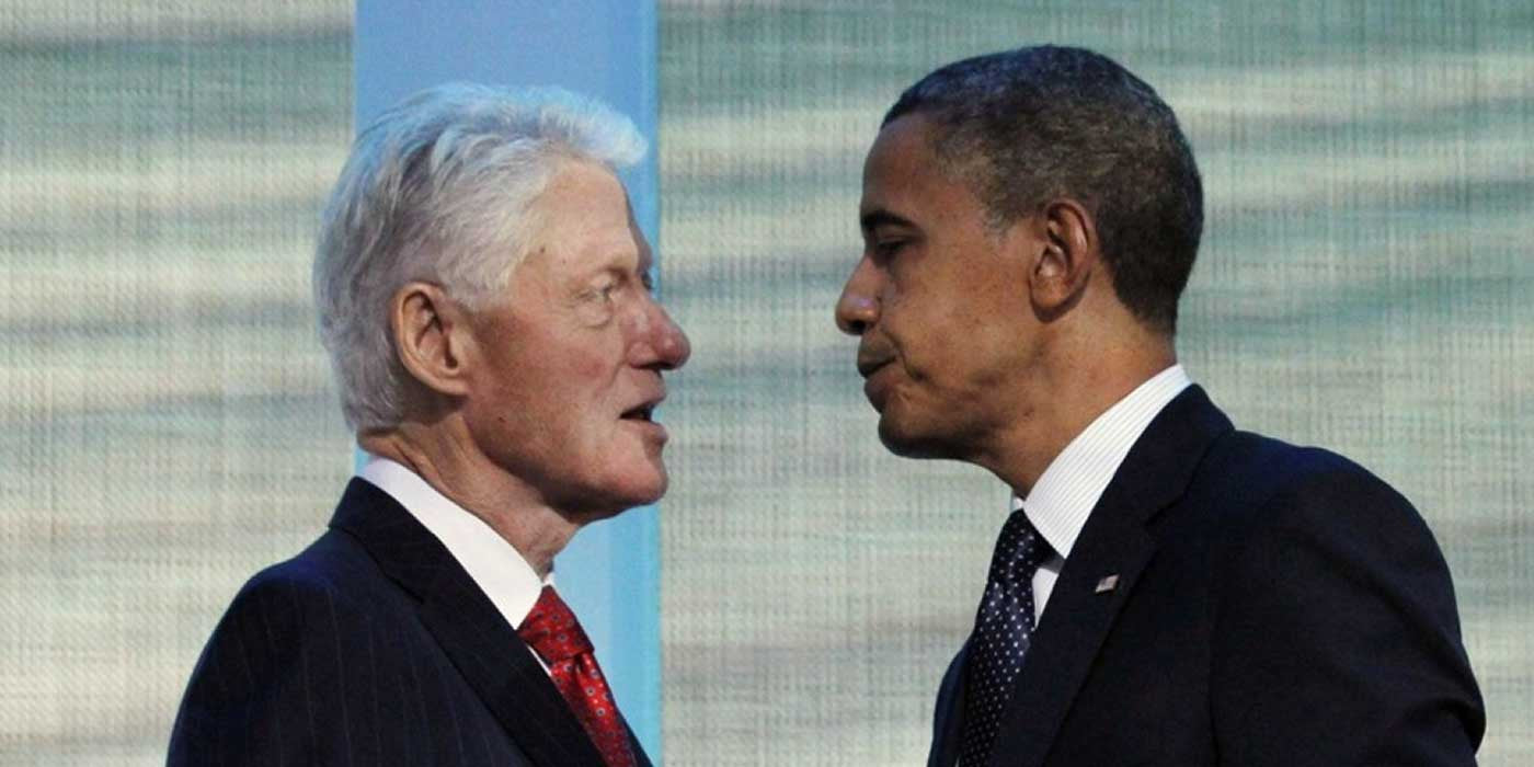 VIDEO: BILL CLINTON SLAMS OBAMA'S 'AWFUL 8 YEAR LEGACY'
