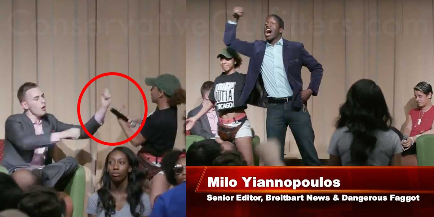 Black Lives Matter Protesters Shut Down Milo's Speech
