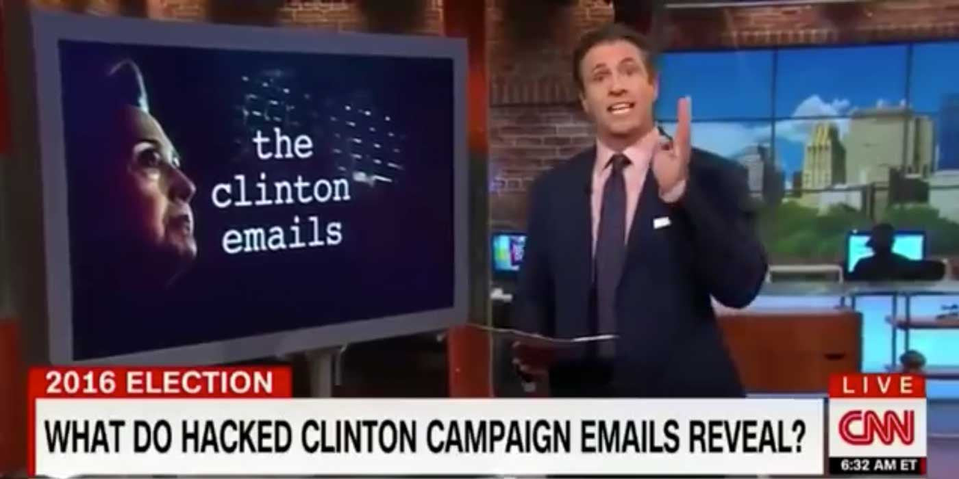 CNN Says It's ILLEGAL For Public To Read WikiLeaks Emails (VIDEO)