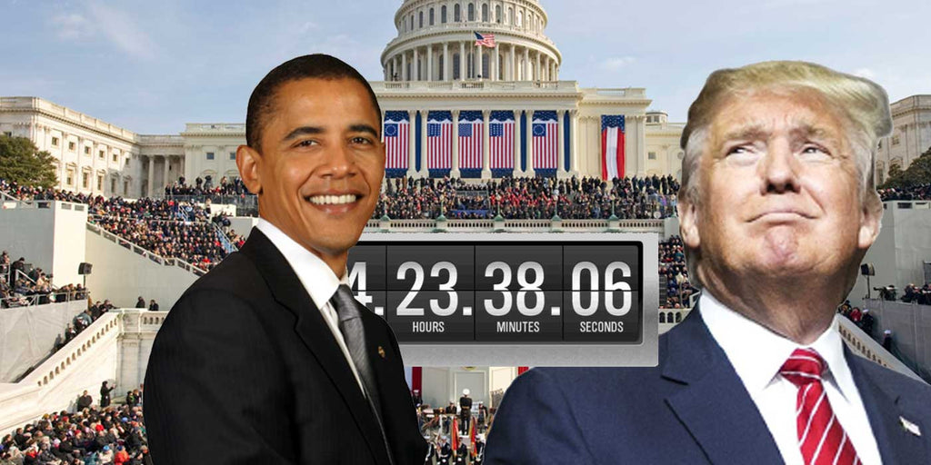 COUNTDOWN CLOCK: Time Left Until Obama Leaves Office?