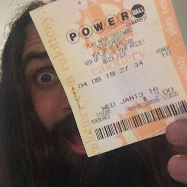 Did this guy win the 1.5 Billion Powerball Jackpot?