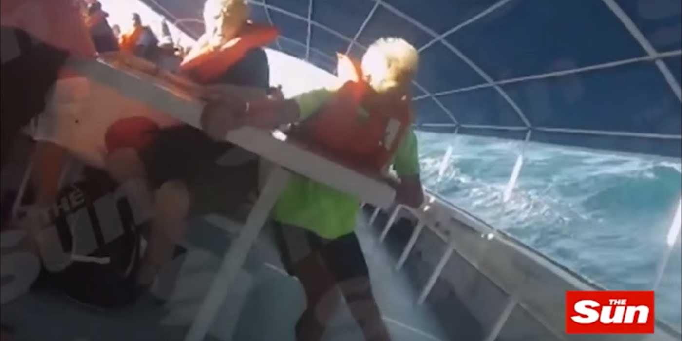 Terrifying Moment Boat Carrying 100 Passengers Capsizes