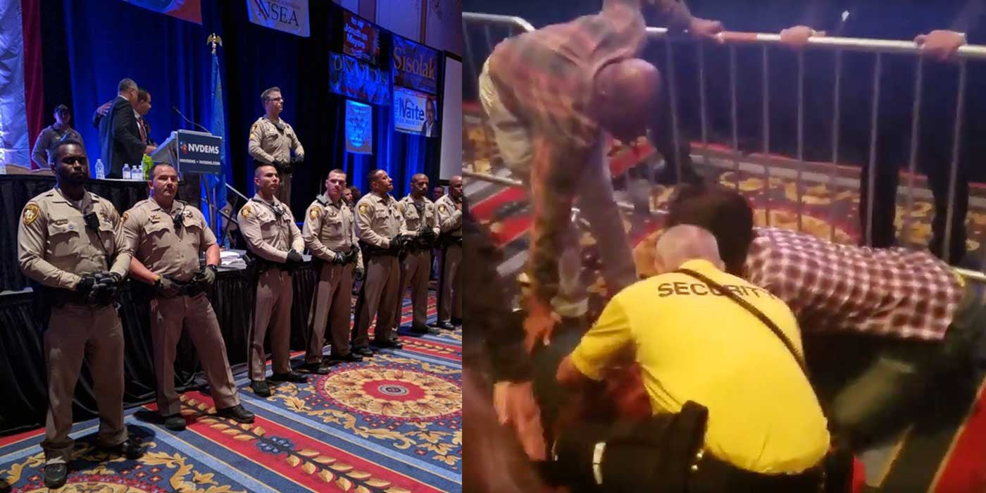 VIDEO: Chaos At The Nevada Democratic Party Convention