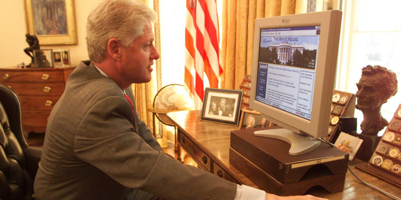 Clinton White House two terabyte drive stolen from National Archives