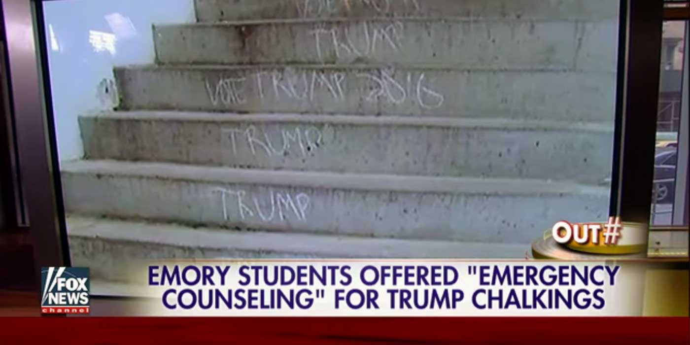 College offers emergency 'Trump' counseling to students