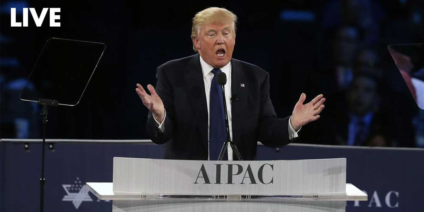 Donald Trump Full Speech at AIPAC Policy Conference