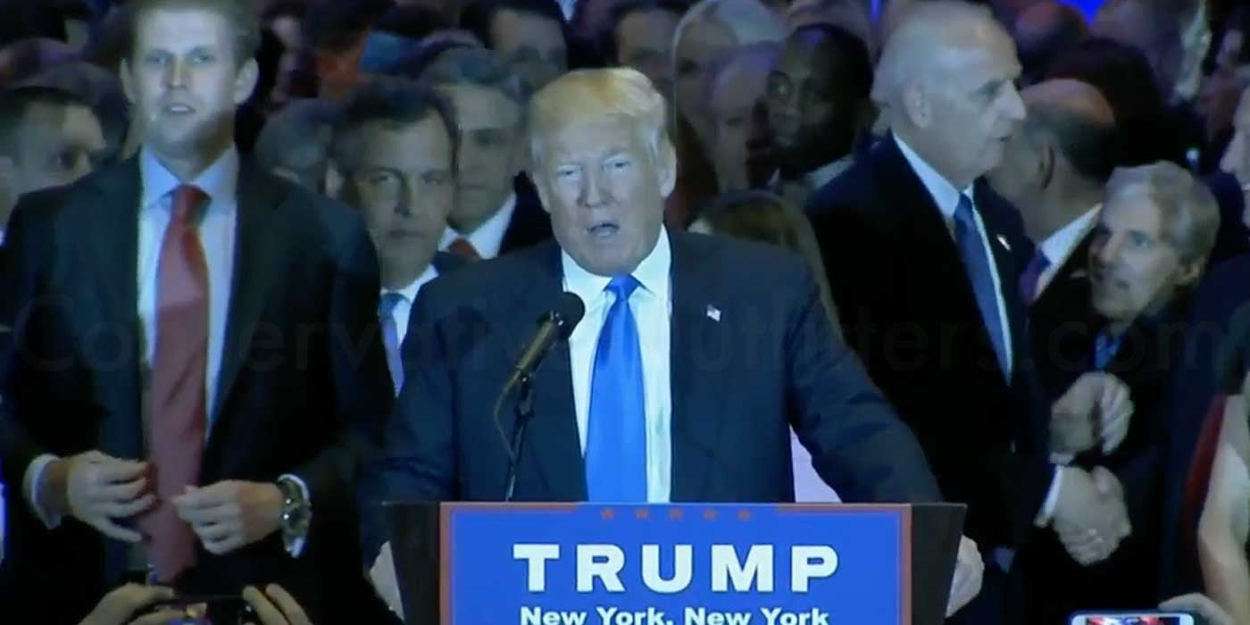 LIVE STREAM: Donald Trump Victory Press Conference