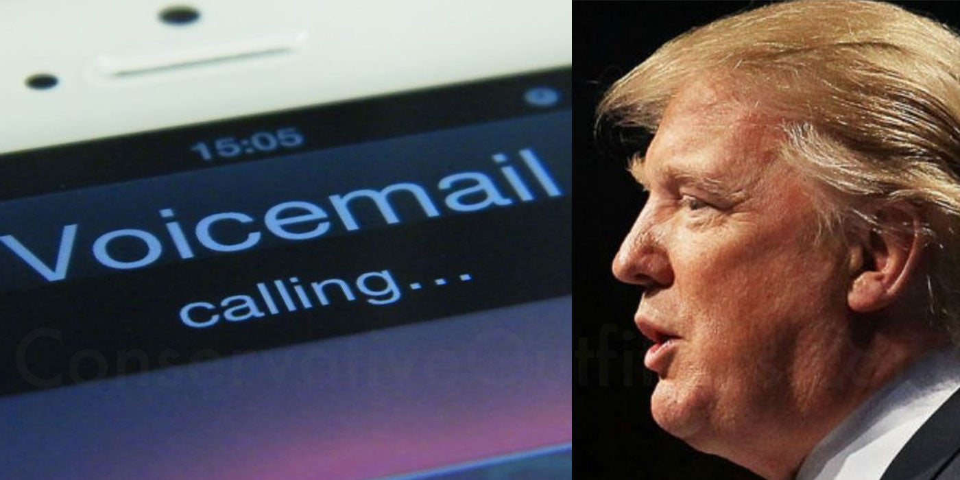 Donald Trump's Private Voicemail Leaked By Hackers
